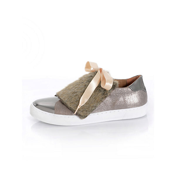 Alba Moda Moda Low taupe Sneakers Low Alba Sneakers taupe qfwnqvOat