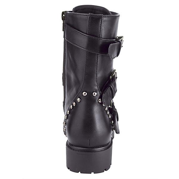 Liva Loop, Biker Stiefel, schwarz  beliebte Gute Qualität beliebte  Schuhe 113c85
