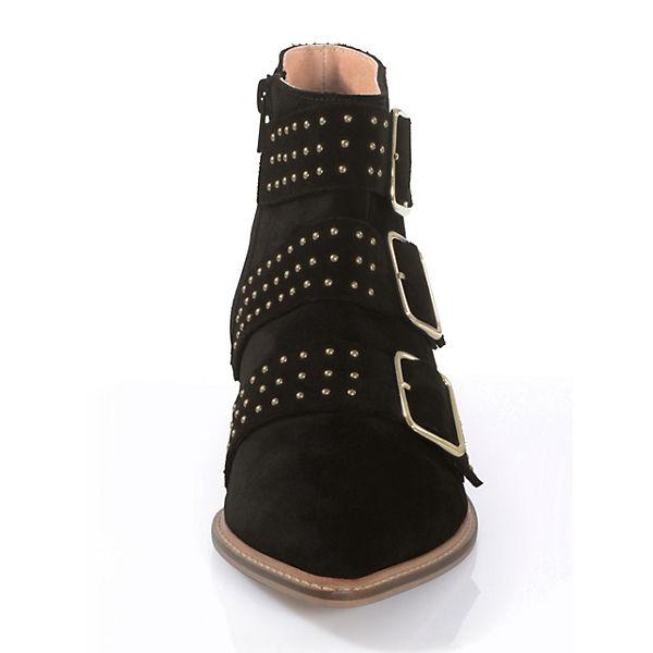 Alba Moda Klassische Stiefeletten schwarz  Gute Qualität beliebte Schuhe