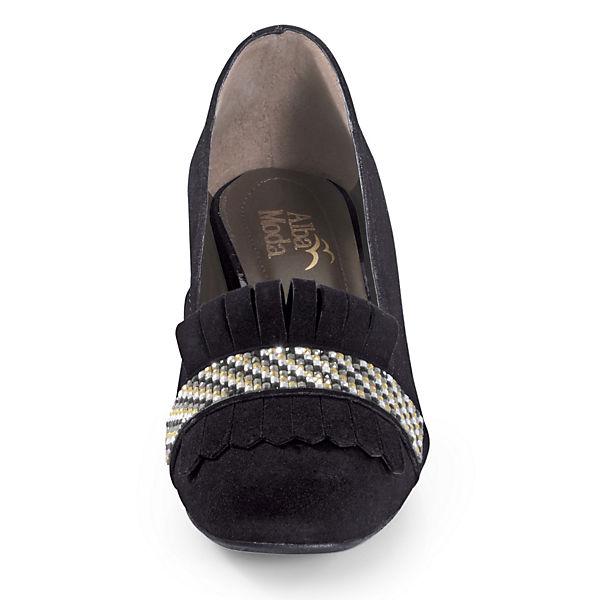Moda schwarz Alba Loafer schwarz Pumps Alba schwarz Loafer Moda Loafer Pumps Pumps Moda Alba aExwAaI