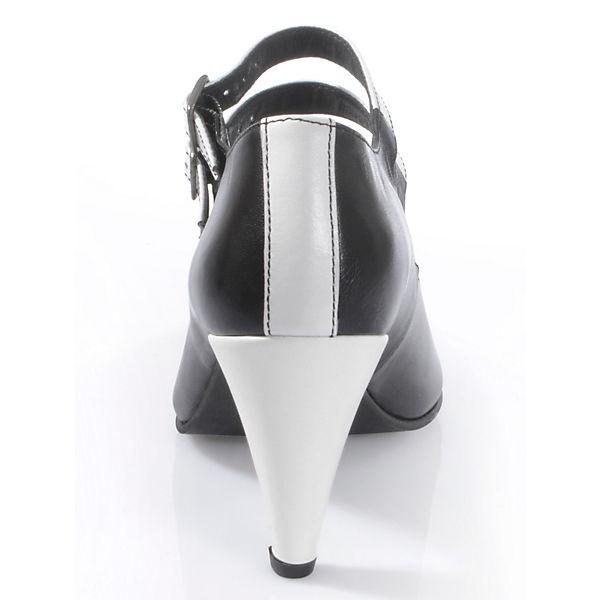 kombi Alba Pumps Klassische Moda schwarz 0117aIwq