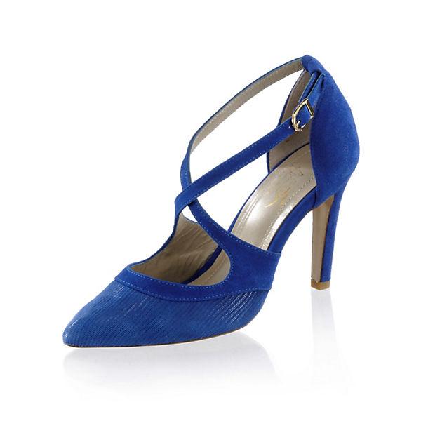 Alba Moda Klassische Pumps blau