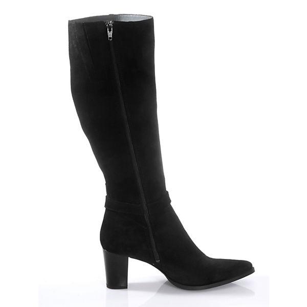 Stiefel schwarz Klassische Alba Alba Moda Moda zw0Bcaq