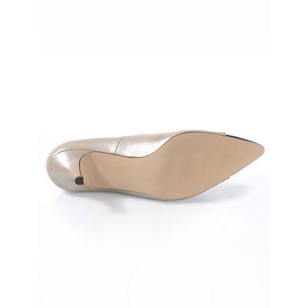 Alba Moda Klassische Pumps champagner  Gute Qualität beliebte Schuhe