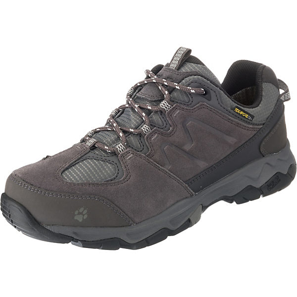 speical offer stable quality lace up in Jack Wolfskin, MTN ATTACK 6 TEXAPORE LOW W Trekkingschuhe, grau/anthrazit