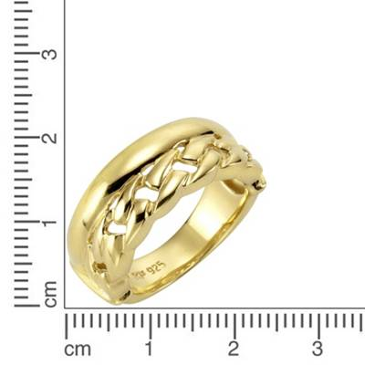 Celesta, Celesta Silber Ring 925 Sterling Silber vergoldet