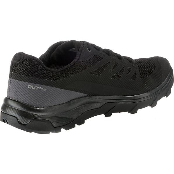 Salomon, Outline GTX®  beliebte Trekkingschuhe, schwarz  Gute Qualität beliebte  Schuhe 6d5af5