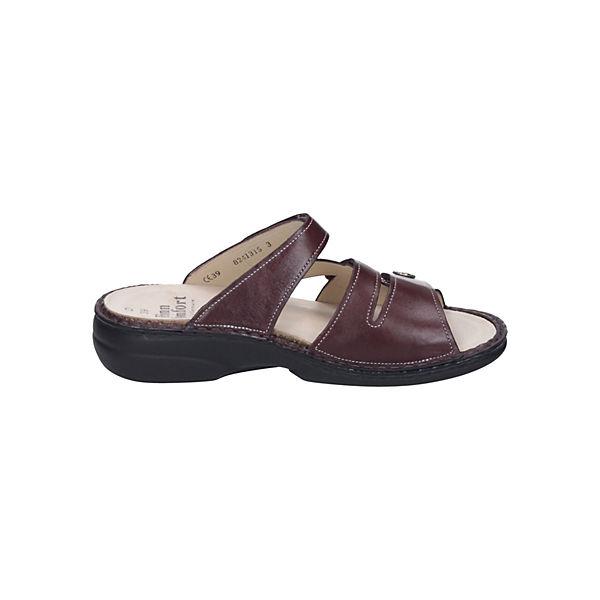 Finn Comfort Komfort-Pantoletten rot rot rot  Gute Qualität beliebte Schuhe 800f52