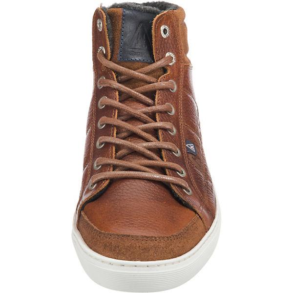 M Cognac Mid Tmb Tiller High Sneakers Gaastra wxY8Stqx
