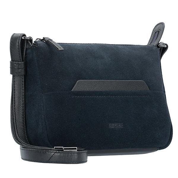 best selling the cheapest look for Bree, Faro 1 Leder 21 cm Umhängetaschen, blau