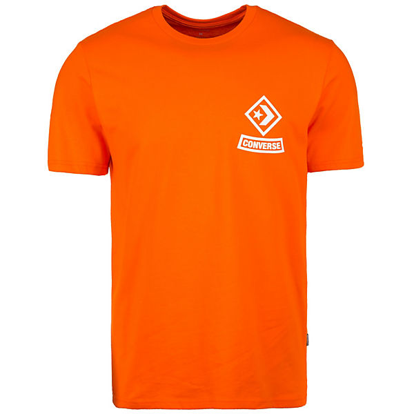T Shirt Diamond orange Arch CONVERSE Herren 6pq4Ox