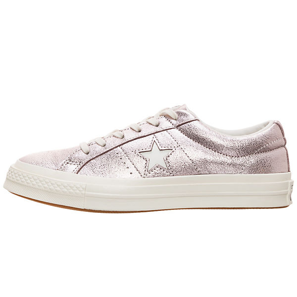 Metallic Star Sneaker Cons CONVERSE One rosa OX Leather v8qxt
