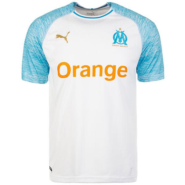 2018 Trikot Olympique PUMA 2019 Herren weiß Home Marseille xSqwvP
