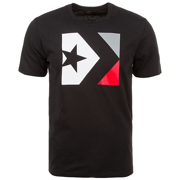 Box Herren T Star schwarz Chevron CONVERSE Shirt UnqHXEwR