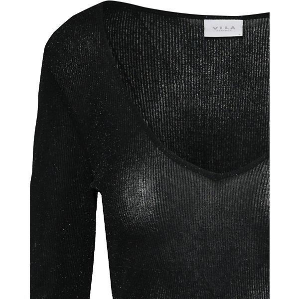 schwarz Pullover VILA schwarz Pullover schwarz VILA Pullover VILA Pullover VILA BUnFfq