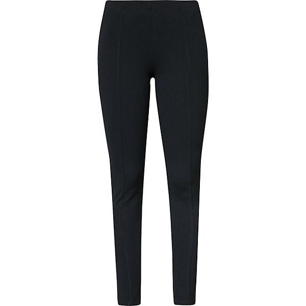 VILA Leggings schwarz