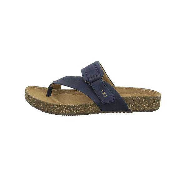 Clarks, Zehentrenner, beliebte blau  Gute Qualität beliebte Zehentrenner, Schuhe 8ec56b