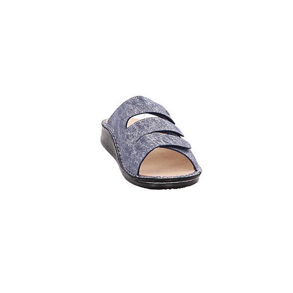 Finn Finn Comfort Pantoletten blau Comfort Pantoletten Comfort blau Finn Pantoletten rv6fqYArw