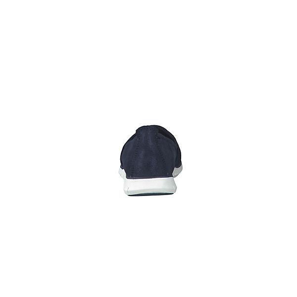 MARCO TOZZI, Klassische Qualität Slipper, dunkelblau  Gute Qualität Klassische beliebte Schuhe 79bb03