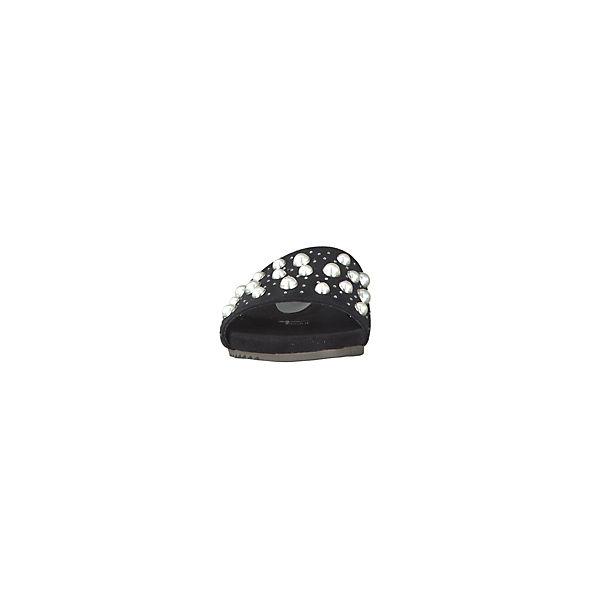 Tamaris, Pantoletten, schwarz  Gute Qualität Schuhe beliebte Schuhe Qualität 7e72a8