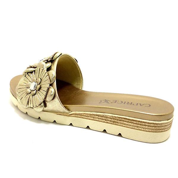 CAPRICE, Pantoletten, gelb  Gute Qualität beliebte Schuhe