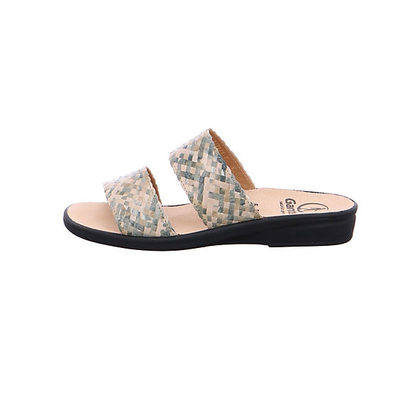 Ganter, Pantoletten, beige/grau Qualität  Gute Qualität beige/grau beliebte Schuhe 9aadf9