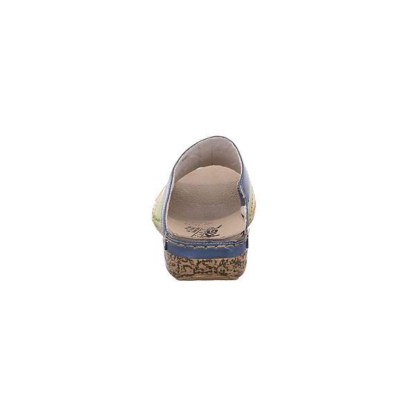 rieker, Pantoletten, mehrfarbig Qualität  Gute Qualität mehrfarbig beliebte Schuhe 7ce734