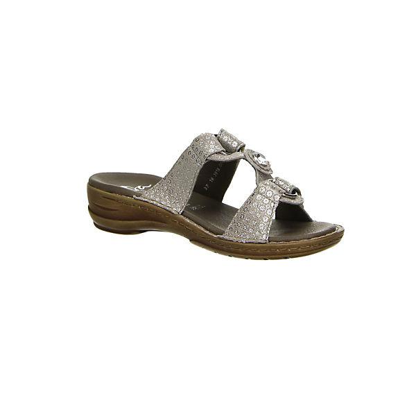 ara, Pantoletten, beige beige beige  Gute Qualität beliebte Schuhe 68a687