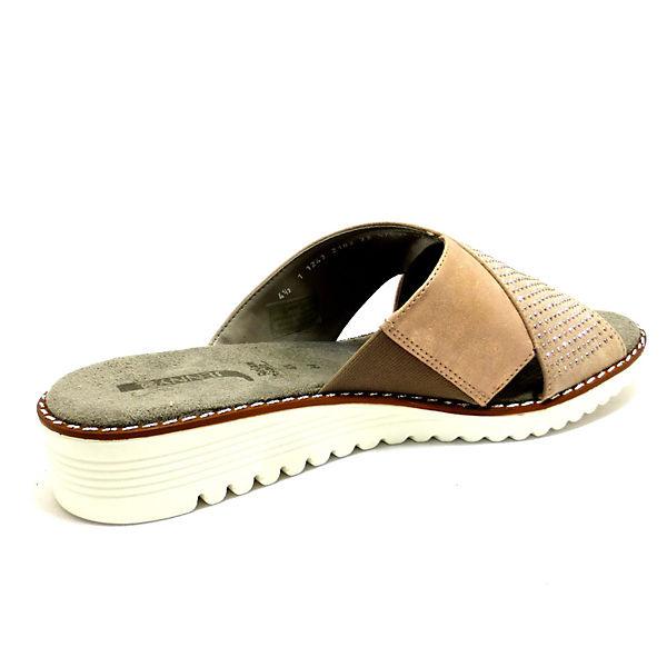 JENNY, Pantoletten, gold Qualität  Gute Qualität gold beliebte Schuhe 5c51e2