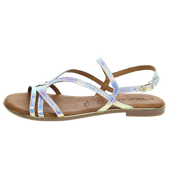 Tamaris, Klassische Sandalen, silber  Gute Qualität beliebte Schuhe