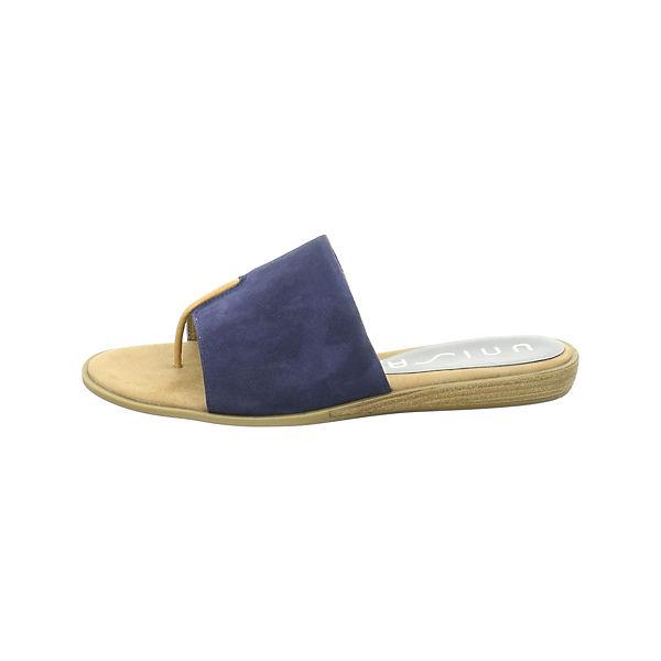 Unisa Pantoletten blau  Gute Qualität beliebte Schuhe