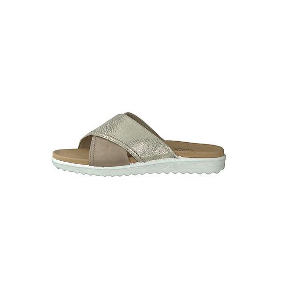 Legero, Pantoletten, beige  Gute Qualität beliebte Schuhe