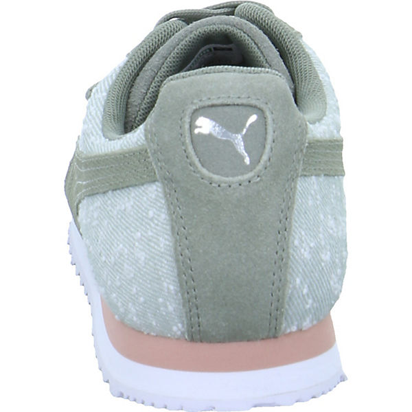 PUMA, Roma Gute Pebble, grün  Gute Roma Qualität beliebte Schuhe b3c550