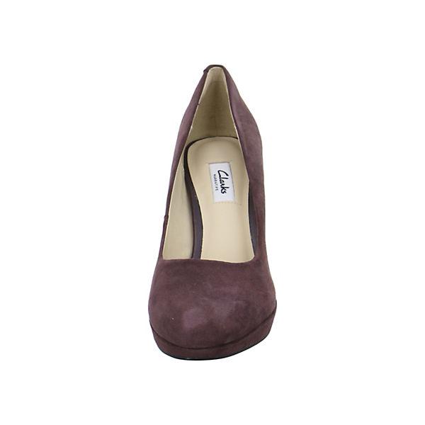 Clarks, Plateau-KENDRA Gute SIENNA, lila  Gute Plateau-KENDRA Qualität beliebte Schuhe 04a2d2