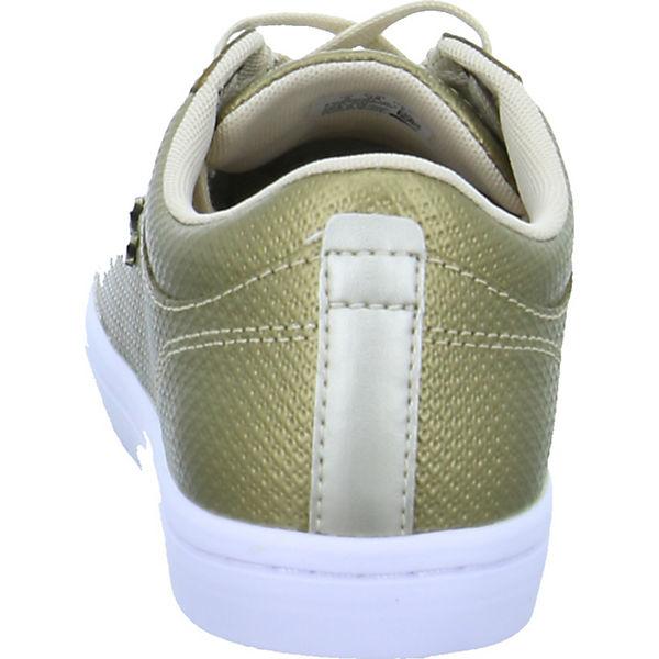 LACOSTE, Straightset 118, gold  Gute Qualität beliebte Schuhe