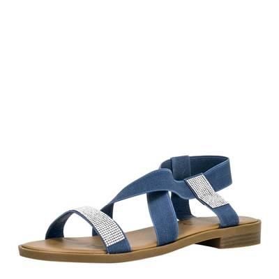 Sandale Lynn in dunkelblau   FITTERS FOOTWEAR   Sandalen