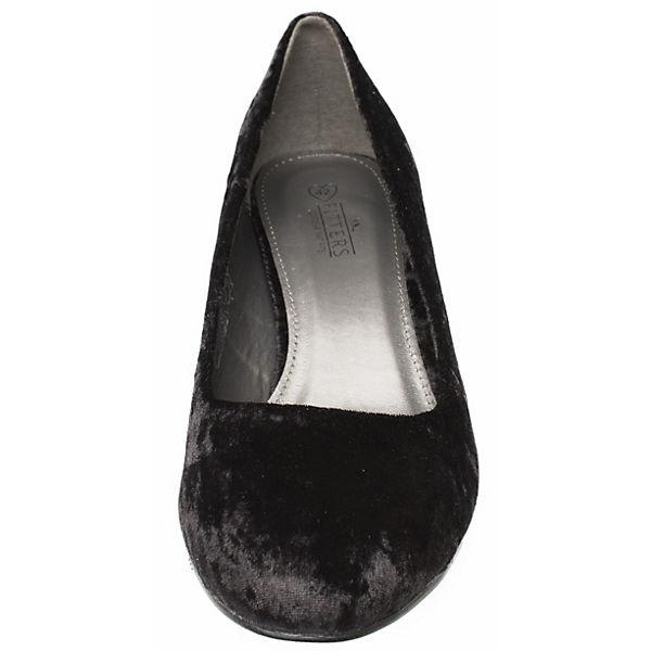Fitters Footwear,  Sesy Samt, schwarz   Footwear, b30925