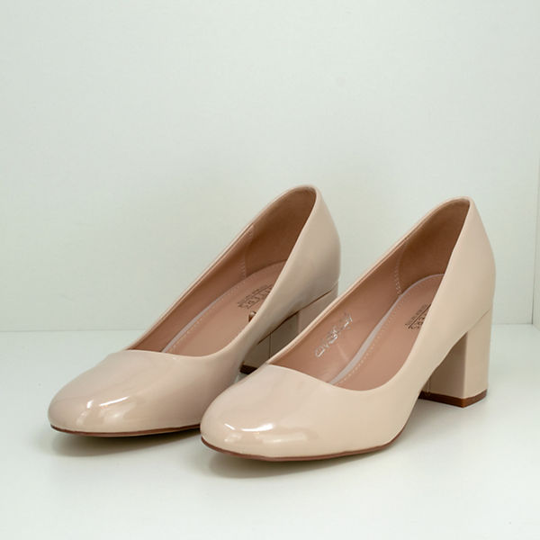 Fitters Footwear, Sesy beige Lack, beige Sesy   703ac8