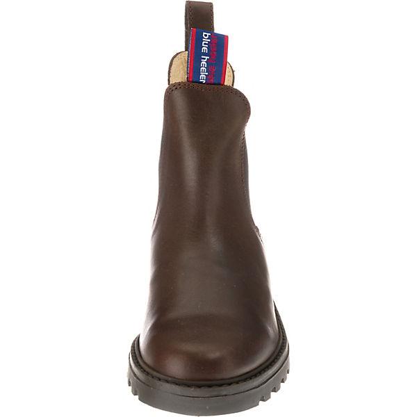 Jackaroo Heeler Boots Chelsea Blue dunkelbraun qx6p1nn