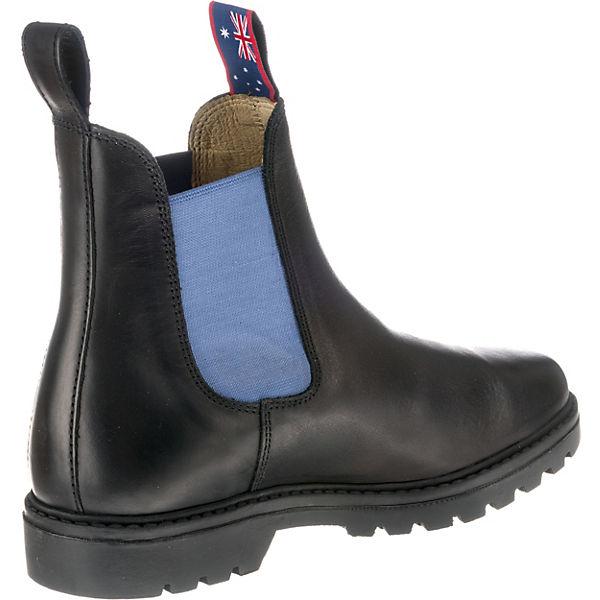 Blue Heeler, Gute Jackaroo Chelsea Boots, schwarz-kombi  Gute Heeler, Qualität beliebte Schuhe f5b85f