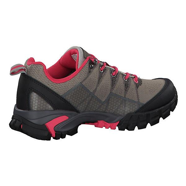 CMP, Trekkingschuhe Tauri Low Wmn WP 38Q9966-P753 mit VIBRAM-SohleProdukttyp, beliebte grau/rot  Gute Qualität beliebte VIBRAM-SohleProdukttyp, Schuhe 3a2fa6