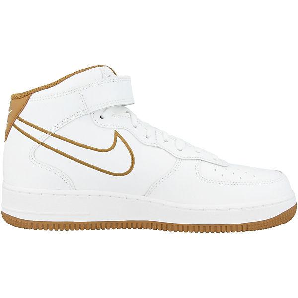 Nike Sportswear, '07 Air Force 1 MID '07 Sportswear, Leathe, weiß  Gute Qualität beliebte Schuhe 1607b4