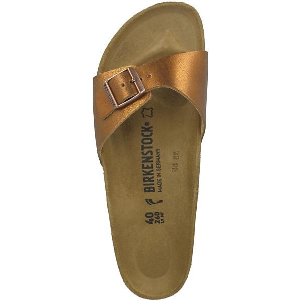 BIRKENSTOCK, Madrid Naturleder schmal, braun Schuhe  Gute Qualität beliebte Schuhe braun 904510