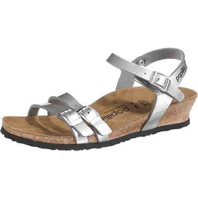 Silberne Sandaletten günstig online kaufen   mirapodo 3295e498b6