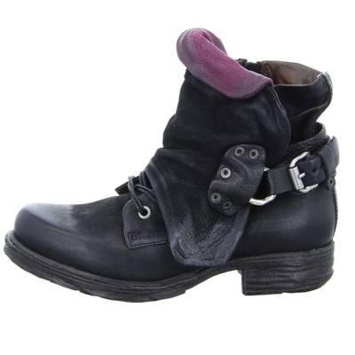 A.S.98, Klassische Stiefeletten, schwarz Gute Qualität