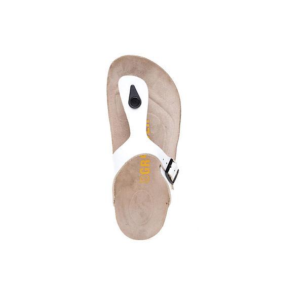 weiß Greyder GREYDER mit Zehentrenner Schnallenverschluss rgIqIpdx