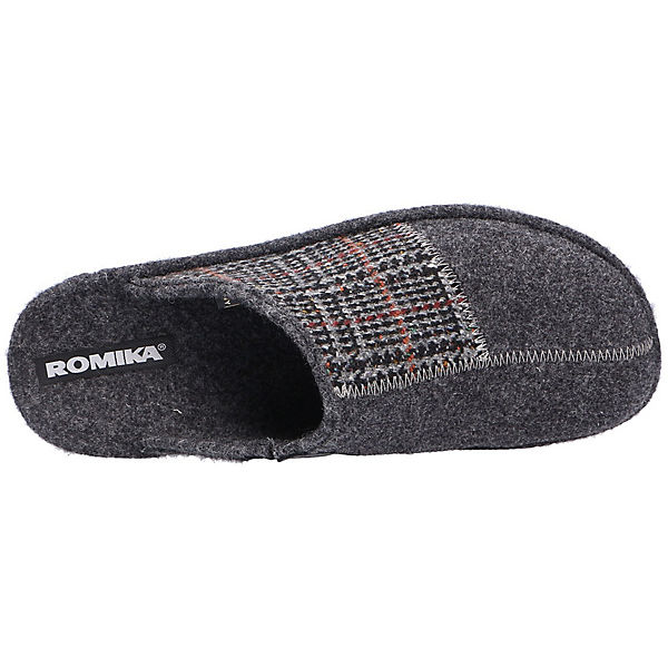ROMIKA grau ROMIKA ROMIKA Pantoffeln Pantoffeln Pantoffeln grau UqpTt