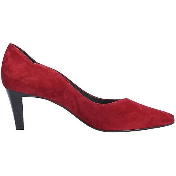 PETER KAISER, Gute Klassische Pumps, rot  Gute KAISER, Qualität beliebte Schuhe 6f0032