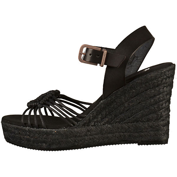 Fred de de Fred la Bretonière Keilsandaletten schwarz  Gute Qualität beliebte Schuhe 16136a