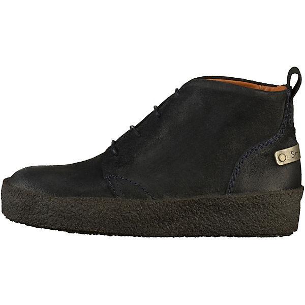 Shabbies Amsterdam, Schnürstiefeletten, blau  Gute Qualität beliebte Schuhe